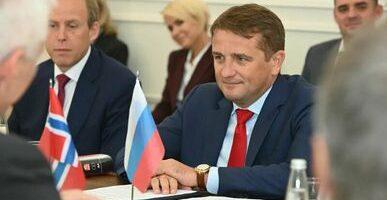 Накануне МРФ-2021 в Санкт-Петербурге состоялась встреча сопредседателей Смешанной Российско-Норвежской комиссии по рыболовству